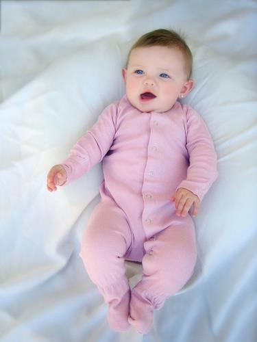 L'ovedbaby Footed Overall - Mauve