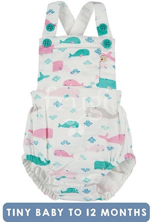 Frugi - Mabel Muslin Dungaree Little Whale (My first Frugi)