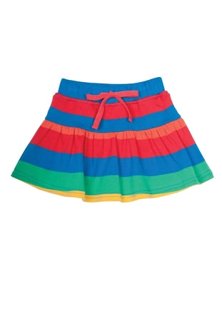 Frugi - Little Skort in Rainbow Stripe (SS16)