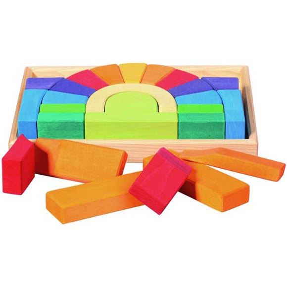 Blocks Building Set Arch Bridge