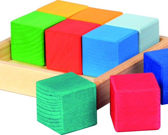 Quadrat Building Set Cubes