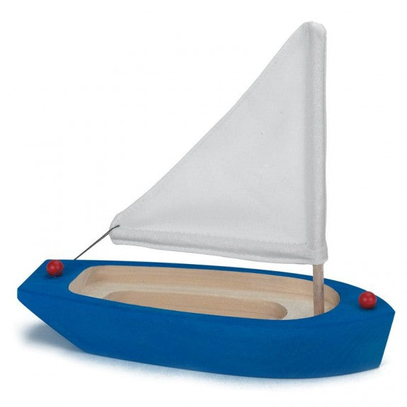 Sailing Boat in Blue