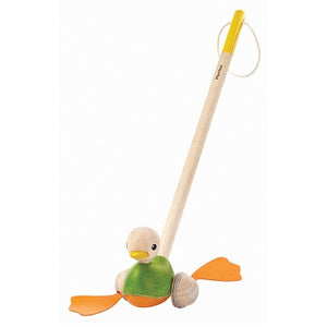 PlanToys - Push along Duck