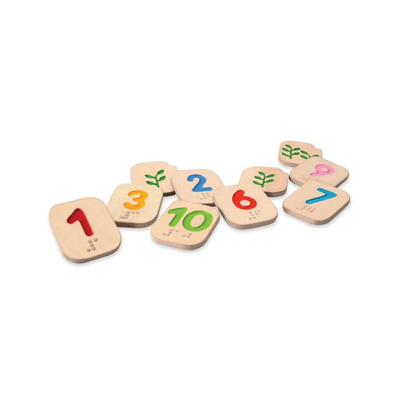 PlanToys Braille Numbers 1-10