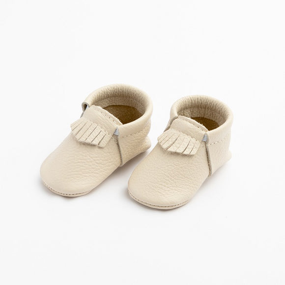 Freshly Picked First Pair City Moccs in Cream