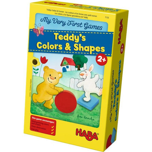 HABA Toys My Very First Games - Teddy's Colors and Shapes