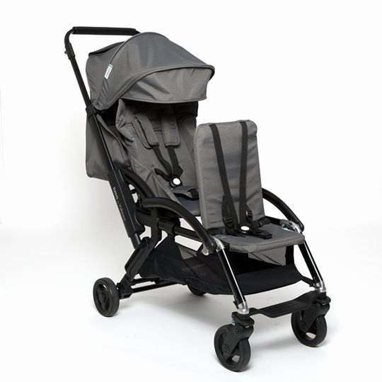 Vidiamo Limo Stroller in Carbon Grey