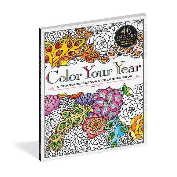 Color Your Year - A Changing Seasons Coloring Book