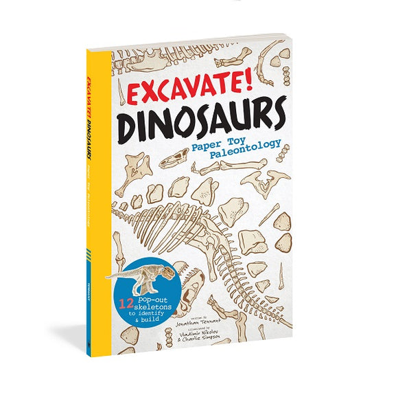 Excavate! Dinosaurs - Paper Toy Archaeology