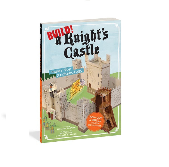 Build! A Knight's Castle - Paper Toy Archaeology