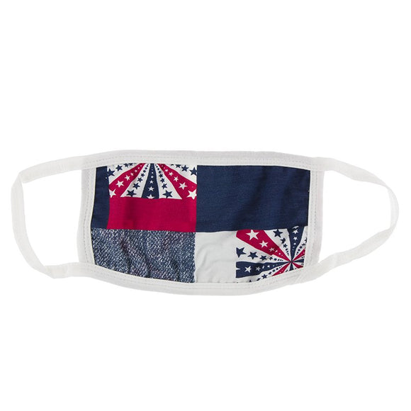 Kickee Pants Mask in Patchwork