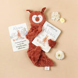 Slumberkins Copper Alpaca Snuggler Bundle