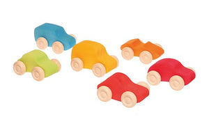 Grimm's 6 coloured Cars
