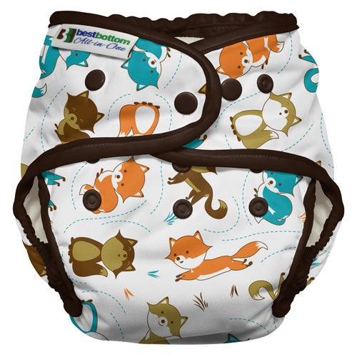 Best Bottom Heavy Wetter All-in-One Diaper