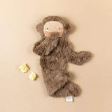 Slumberkins Maple Brown Bigfoot Snuggler Bundle
