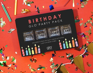 Glo® Birthday Party Pack (12-pack)