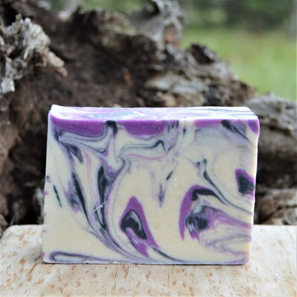 Sheepish Grins Goat Milk Soap Black Raspberry Vanilla