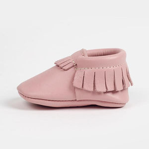 Freshly Picked Soft Sole Moccasins in Blush