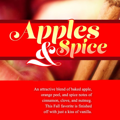 CJ's BUTTer October Scent of the Month: Apples & Spice