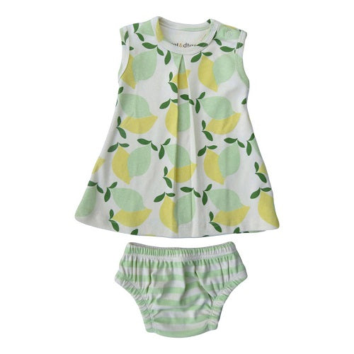 Cat & Dogma - Limes Over Lemons Dress Set