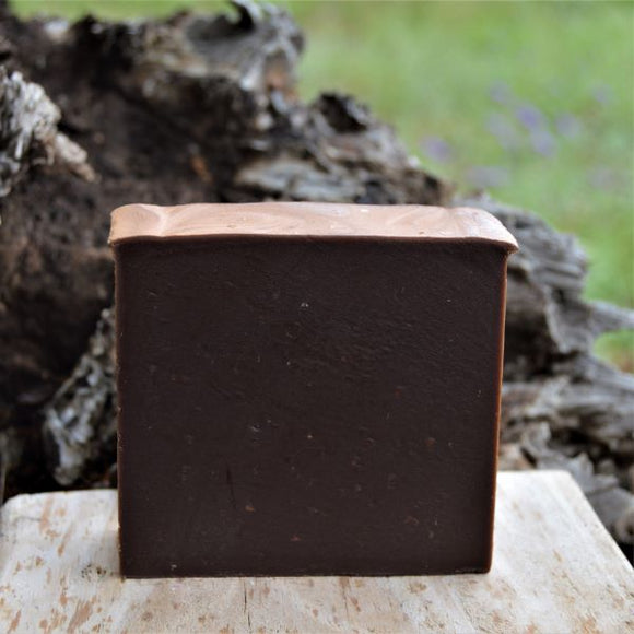 Sheepish Grins Goat Milk Soap Chocolate Peppermint