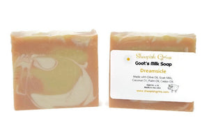 Sheepish Grins Goat's Milk Soap Calming Essential Oil