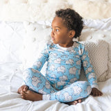 Little Sleepies Elephants Two-Piece Bamboo Viscose Pajama Set