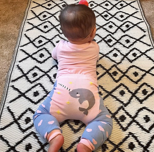Doodle Pants - Narwhal Cotton Leggings