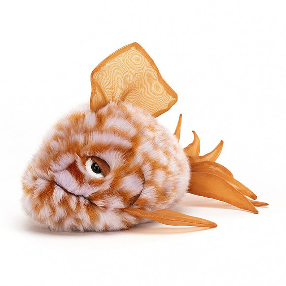 JellyCat Grumpy Fish Orange