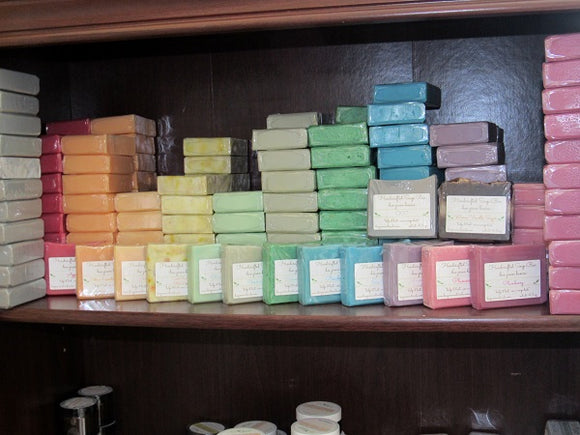 BeeGreen Naturals Simply Colored Basics Soaps
