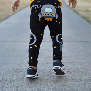 Doodle Pants - Space Walk Cotton Leggings