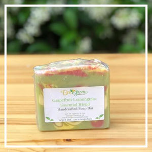 Bee Green Naturals Grapefruit Lemongrass EO Soap