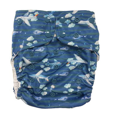 Lighthouse Swim Diaper Cover *DD Exclusive* - In the Clouds