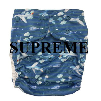 Lighthouse SUPREME Swim Diaper Cover *DD Exclusive* - In the Clouds