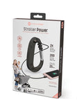 Mommy Power Stroller Power Bank and Carry-All Hook Pink