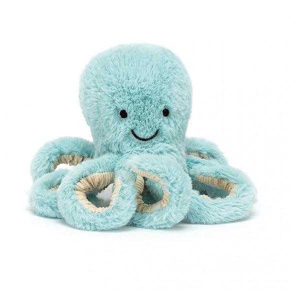 JellyCat Pastel Octopus Blue Baby