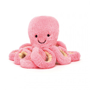 JellyCat Pastel Octopus Pink Baby