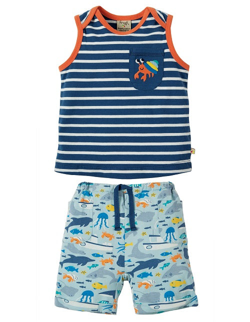 Frugi - Summertime Outfit Marine Life/Hermit Crab (SS19)