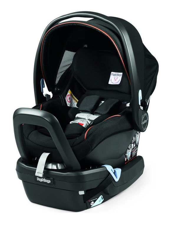 Agio by Peg Perego Primo Viaggio 4/35 Nido Infant Car Seat + Base - Black