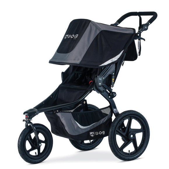 BOB Revolution Flex 3.0 Single Stroller in Graphite/Black