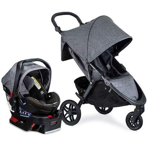 Britax B-Free & B-Safe Ultra VIBE Travel System