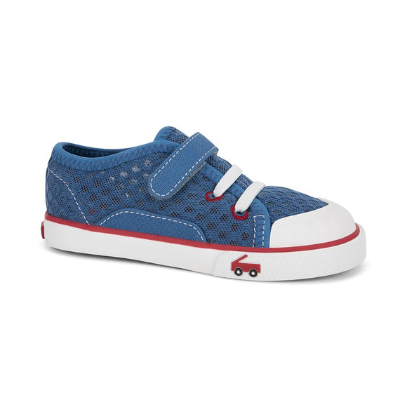 See Kai Run - Water Friendly Mesh Saylor Blue/Red
