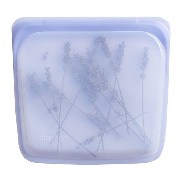 Stasher - Reusable Silicone Sandwich Bag - Amethyst