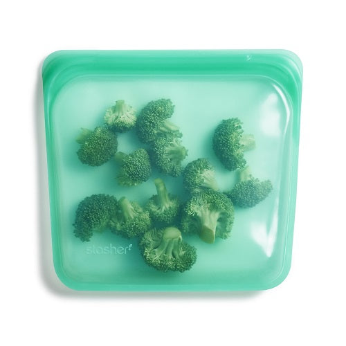 Stasher - Reusable Silicone Sandwich Bag - Jade
