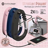 Mommy Power Stroller Power Bank and Carry-All Hook Navy