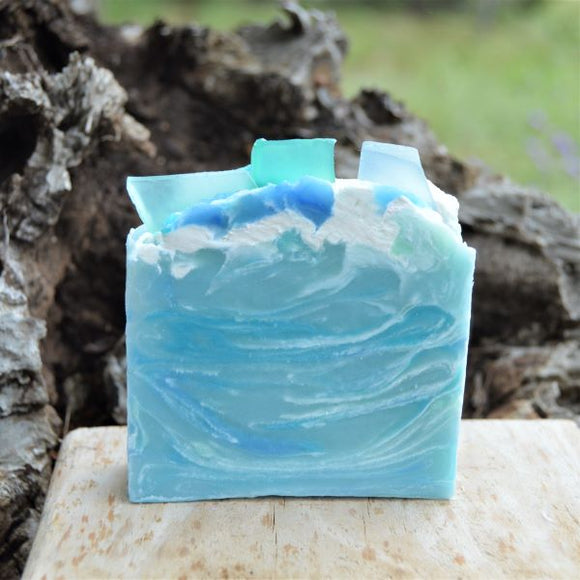 Sheepish Grins Goat's Milk Soap Red Sea Glass