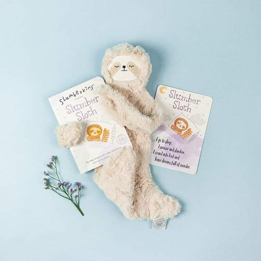 Slumberkins Hazel Slumber Sloth Snuggler Bundle