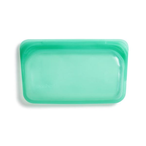 Stasher - Reusable Silicone Snack Bag - Jade