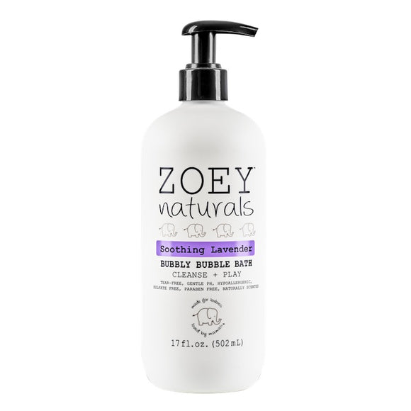 Zoey Naturals Soothing Lavender Bubbly Bubble Bath