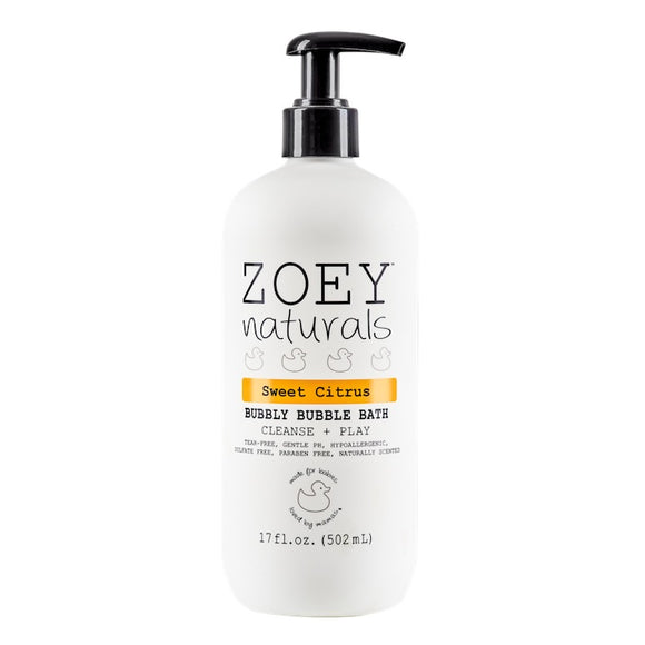 Zoey Naturals Sweet Citrus Bubbly Bubble Bath